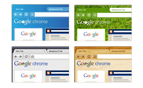 Nuevos themes para Google Chrome