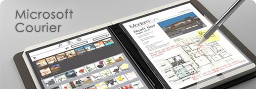 Microsoft Courier, nuevo tablet PC para competir con Apple