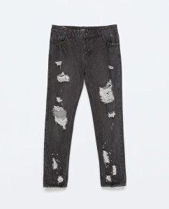 Zara Super Ripped Jeans