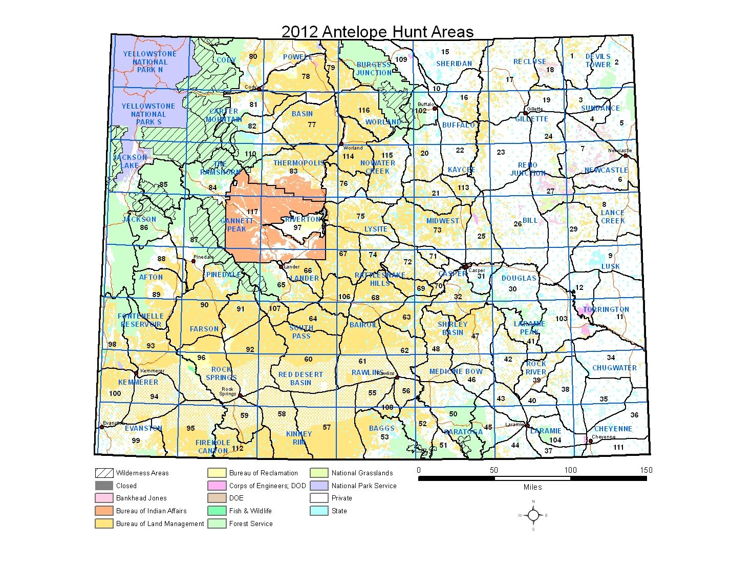 Wyoming Diy Antelope Hunt Part 3 Hunt Areas And Public