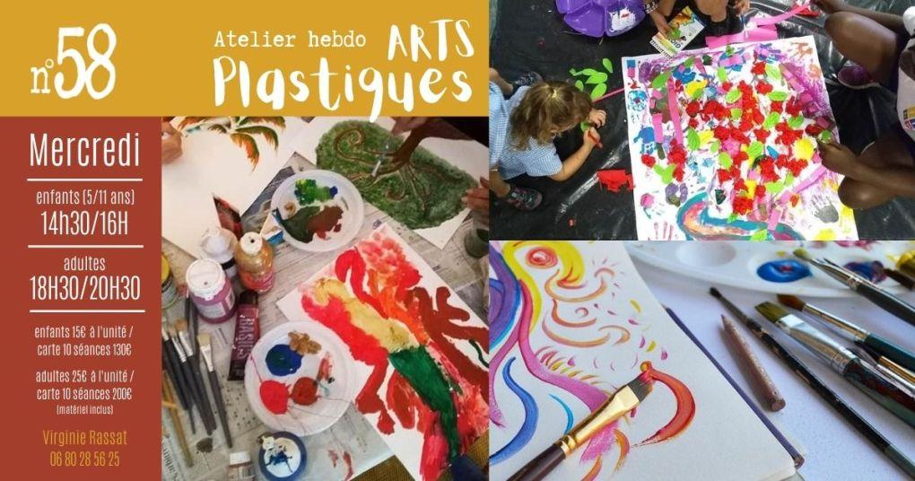 atelier hebdo ARTS PLASTIQUES