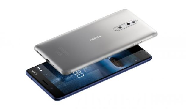 Nokia 8 Android Nougat 7.1 Specs in 2017