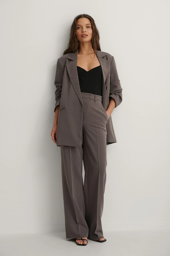 Purple Suit Pants