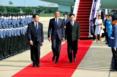 Barack Obama in in Bangkok, Thailand