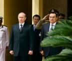Wladimir Putin und Hosni Mubarak