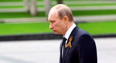 """Wladimir Putin am """"Grab des unbekannten Soldaten"""""""
