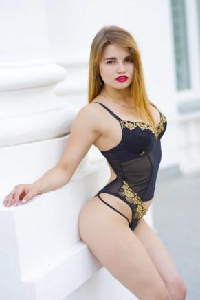 Sexy Girl im Freien