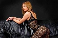 Sexy Girl in Netzunterwäsche