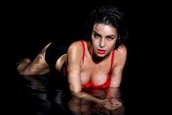 Sexy Girl im Wasser