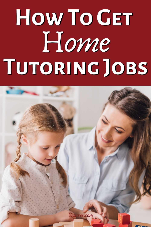 Home Tutoring Jobs