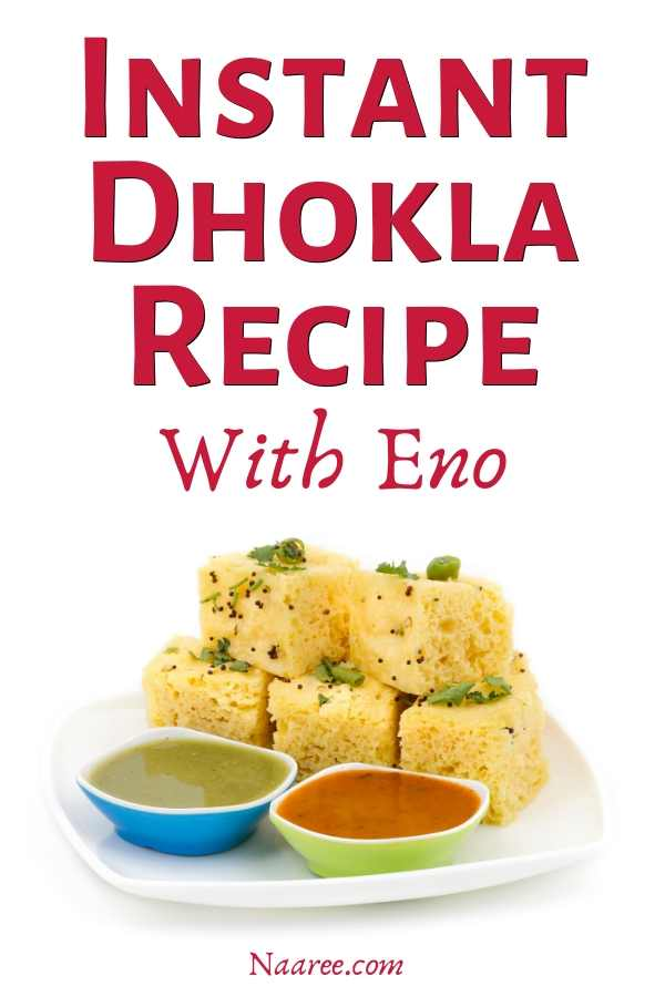 instant dhokla recipe with eno