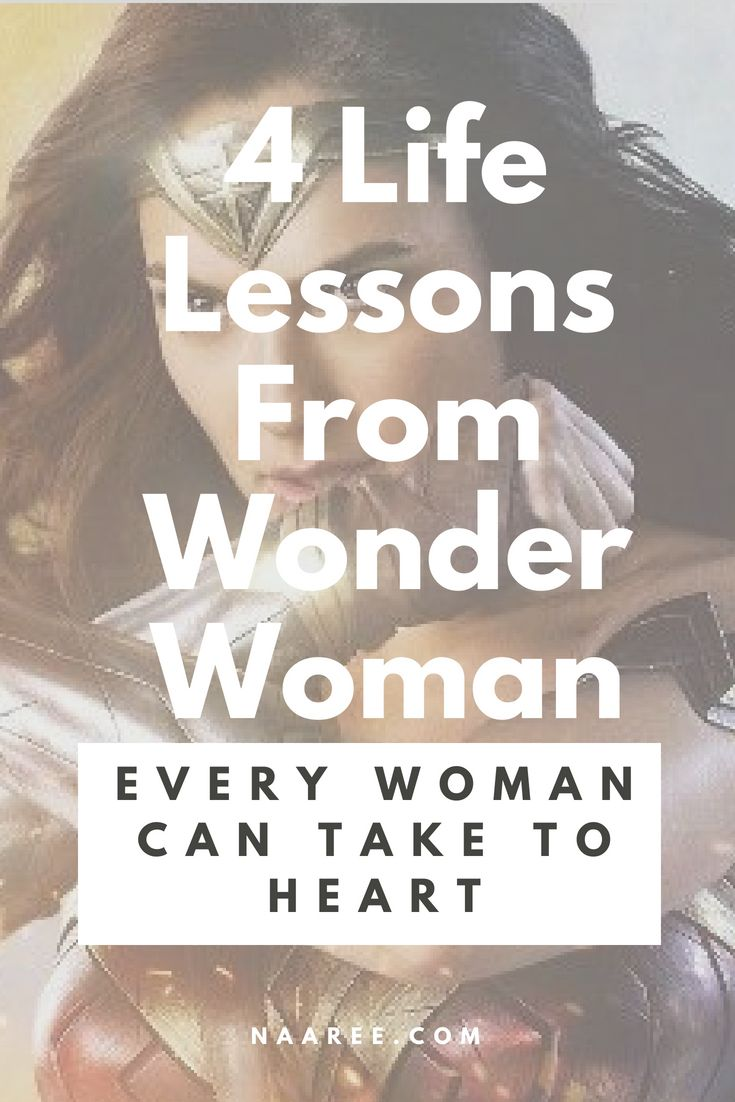 Life Lessons From Wonder Woman