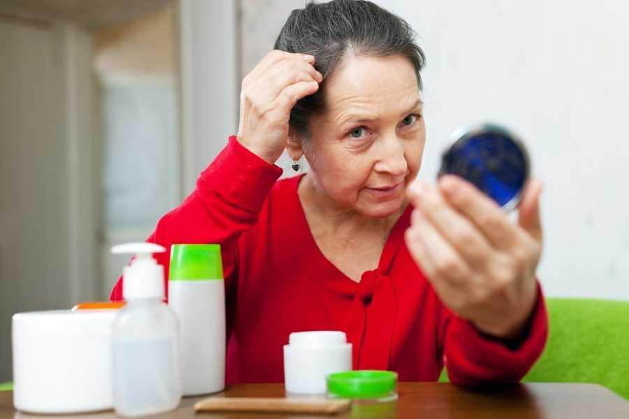 hair care tips for elderly