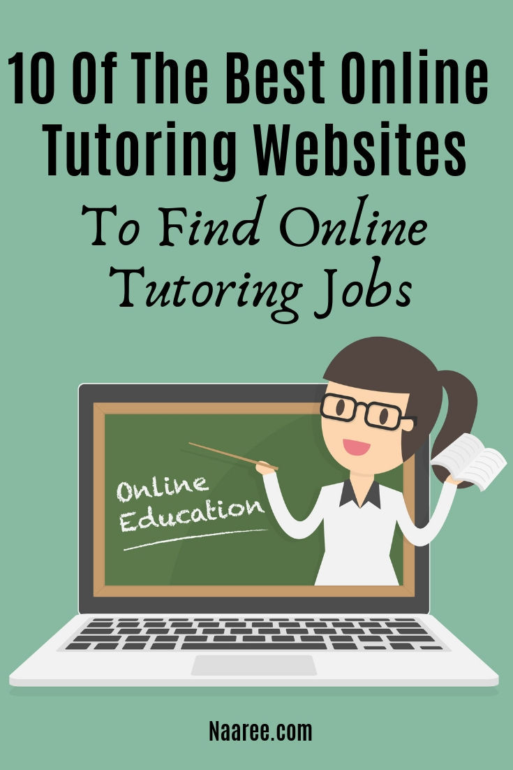 10 Of The Best Online Tutoring Sites To Find Online Tutoring Jobs