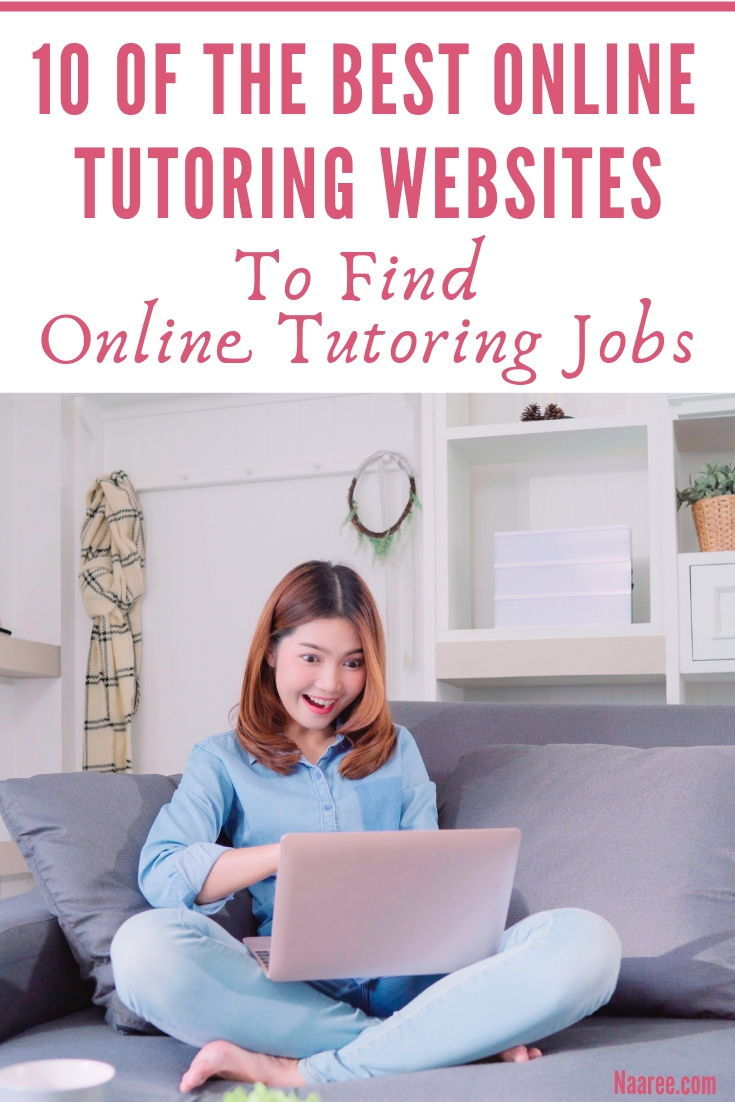 10 Of The Best Online Tutoring Sites To Find Online Tutoring Jobs At Home