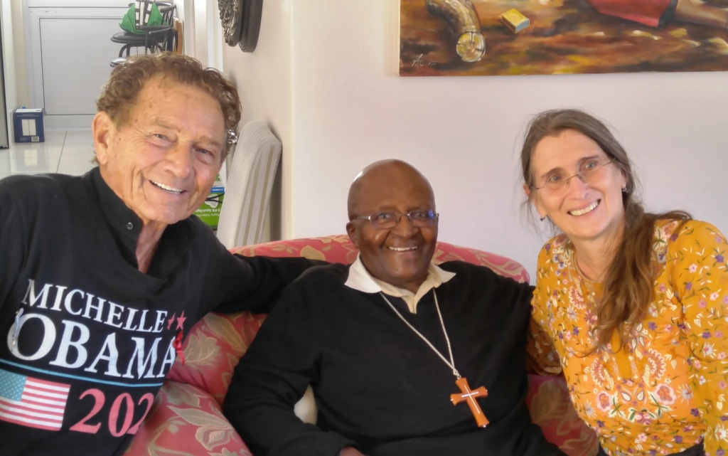 2017 Arch Tutu JDNBH at his Cape Town home