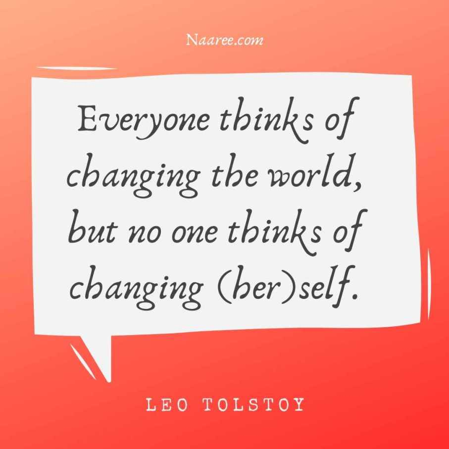 Change Yourself Quotes