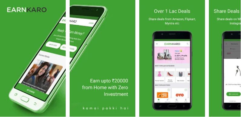earnkaro free money earning apps for android in india