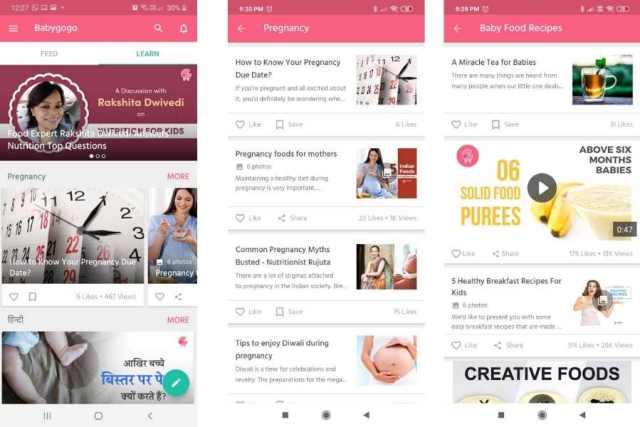 parenting apps india
