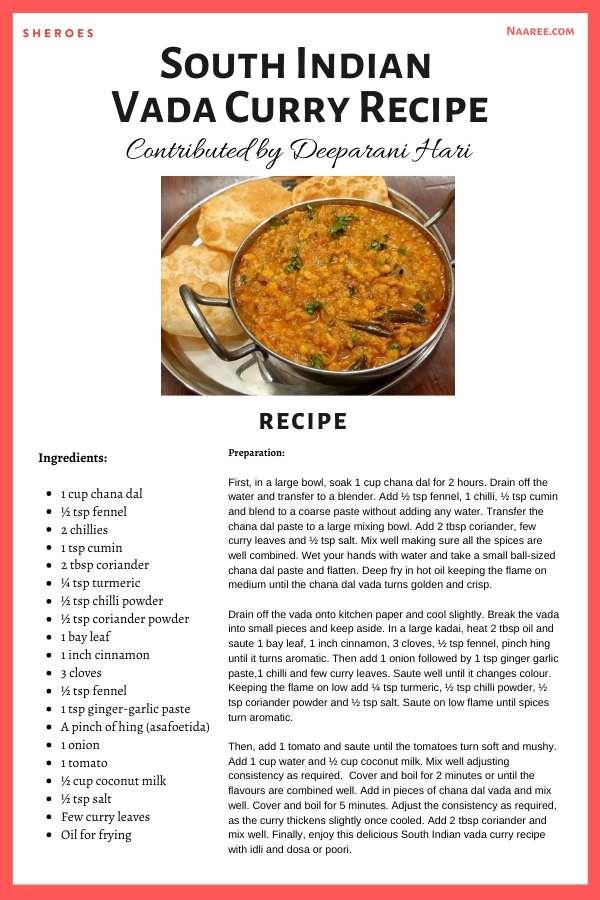 vada curry recipe