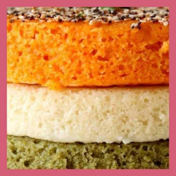 tri color dhokla recipe