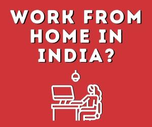 Work From Home India