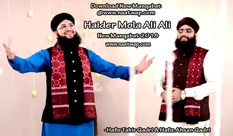 Haider Mola Ali Ali By Tahir Qadri