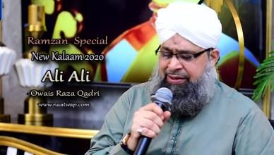 Ali Ali By Owais Raza Qadri