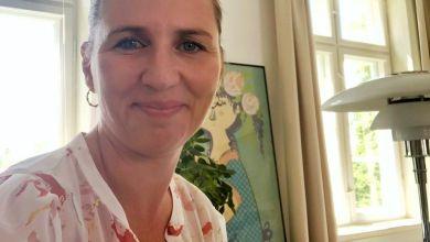 صورة رئيسة الوزراء تؤكد أن الدنمارك لن تمنع ختان الذكور