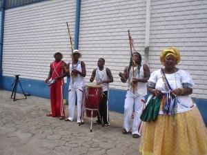 Candomblé na capoeira 1