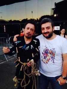 Pietro e Tom Zé