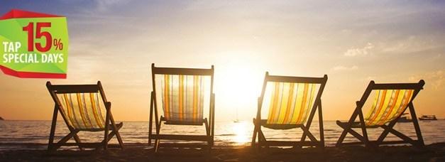 Rilassati con un viaggio in Brasile e risparmia il 15% sul biglietto a/r