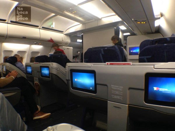 Layout Business Class Tap Portugal