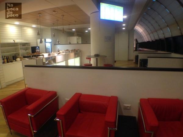 Lounge TAP Roma