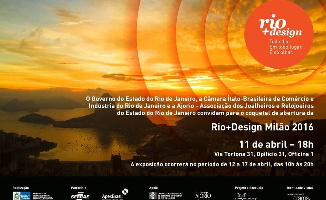 RIO+DESIGN+MUSICA+MUDEC, da Rio de Janeiro a Milano