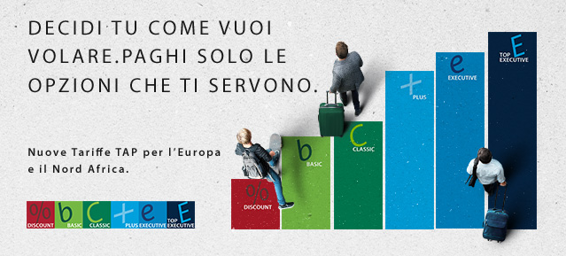 Tap Portugal offre voli a partire da €45 solo andata e da €75 per Lisbona