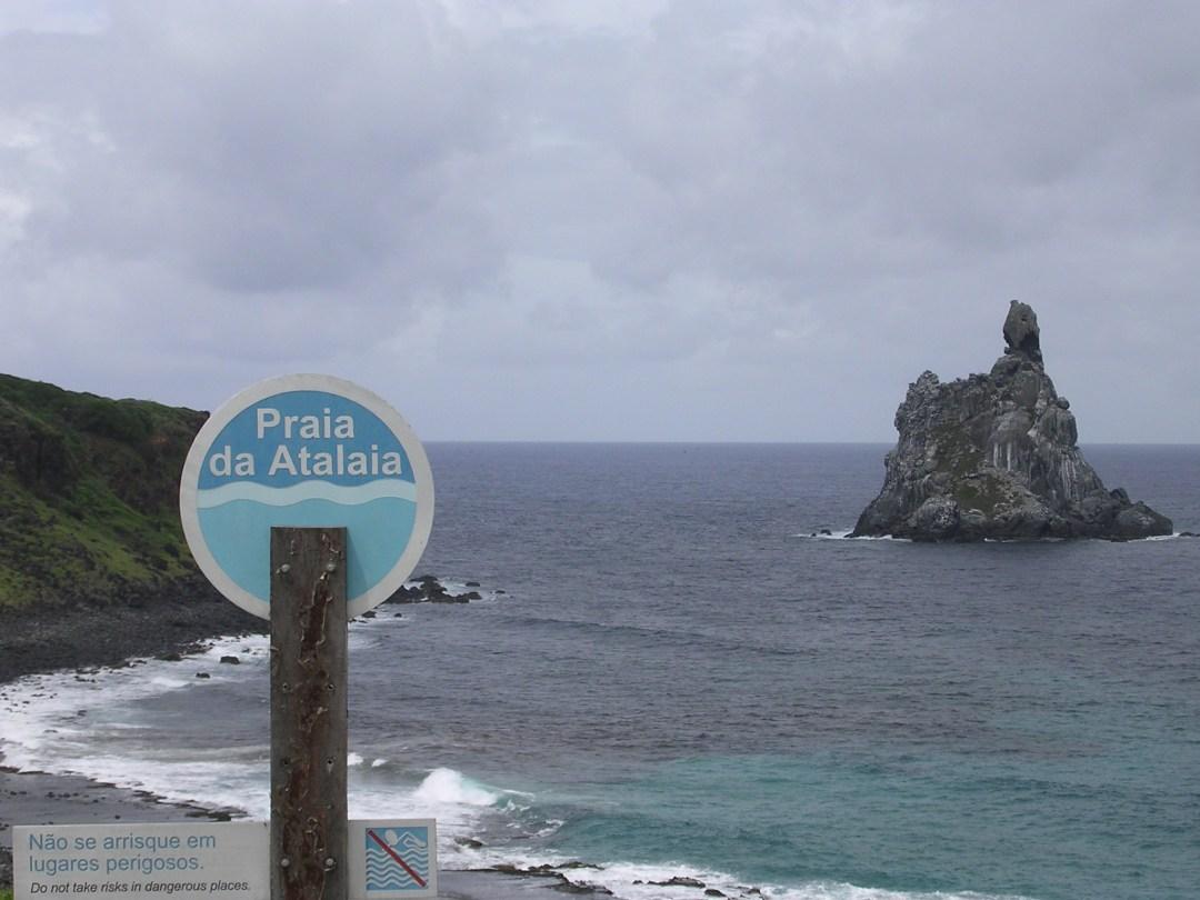 Praia de Atalaia dall'alto