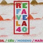 Refavela, 40 anni dopo il disco africano di Gil torna sul palco