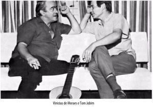 Vinicius de Moraes e Tom Jobim