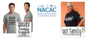 NACAC-t-shirts