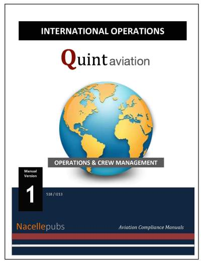 International Operations Manual