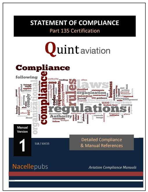 Part 135 Statement of Compliance