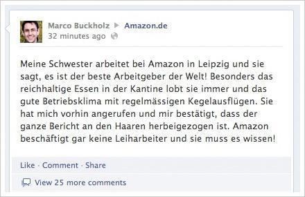 Shitstorm gegen Amazon