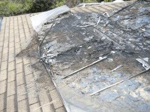 Solar panels release dangerous chemicals when they burn