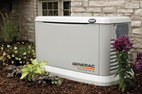 Standby generators are non-portable and may require a permit.