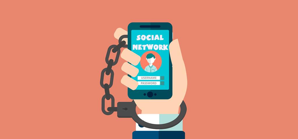 Enganchados a las redes sociales