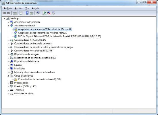 solucionar problemas con el administrador de dispositivos de windows 7