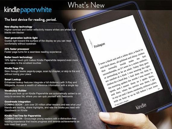 Kindle Paperwhite con integración Goodreads