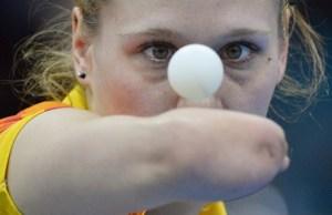 Natalia Partyka, tenis de mesa, polaca.