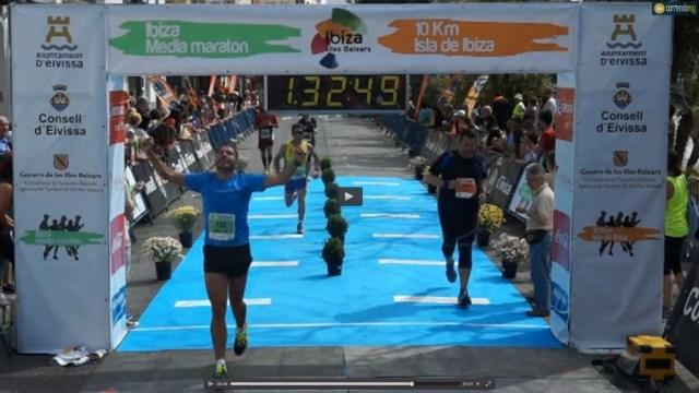 Llegada Medio Maraton Ibiza